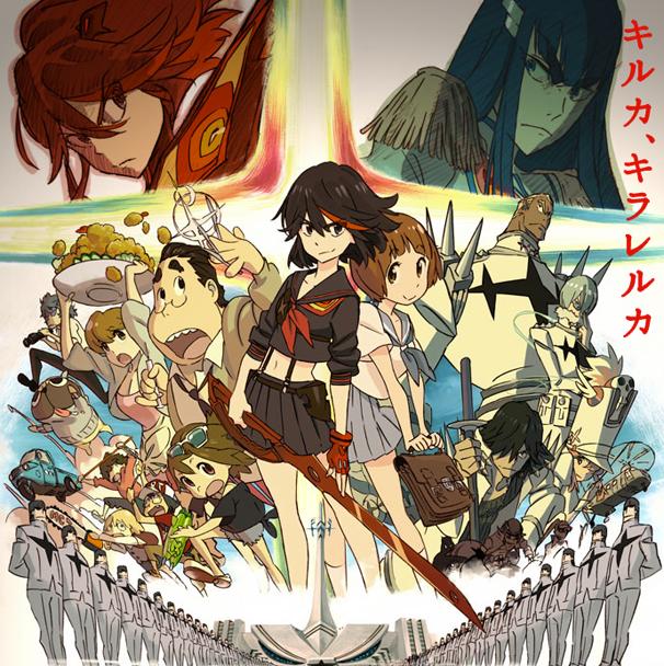 超注目アニメ・今石洋之×中島かずき『キルラキル』、ロングPV公開!