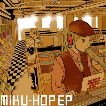 「MIKU-HOP EP」/画像はOMOIDE LABELより