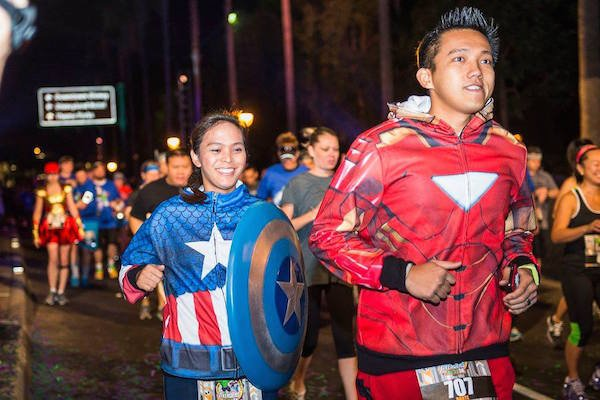 Avengers Super Heroes Half Marathon Weekend
