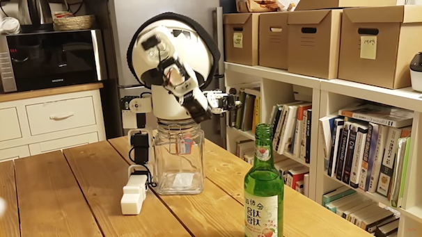 「ROBOT DRINKY: The Alcohol drinking Robot」スクリーンショット 3