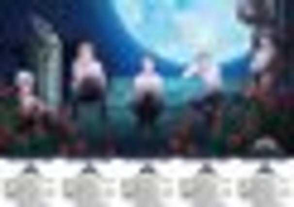 5枚綴りグループ前売鑑賞券「正装ver.」 全裸……?/(C)T-ARTS / syn Sophia / キングオブプリズム製作委員会/公式Webサイトより