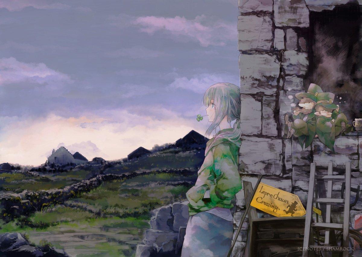 Shamrock「かたひじはらず、きらくにいこう」アイルランドの印象/高野音彦
