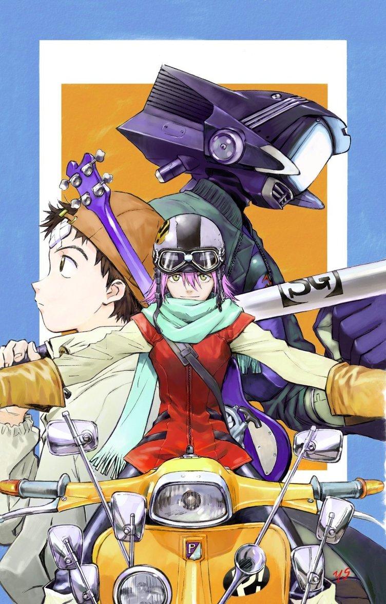 伝説的アニメ『フリクリ』続編始動! カートゥーンネットワークで放送