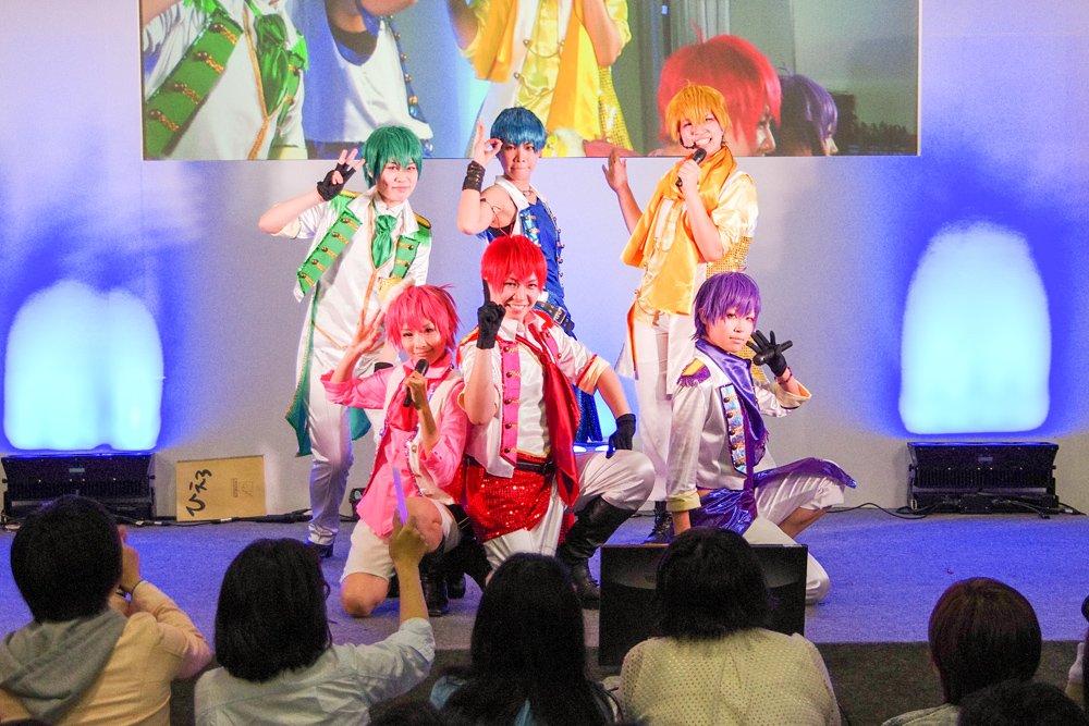 ニコニコ超会議2016 超まるなげステージ「コスつく」パフォーマンス 1