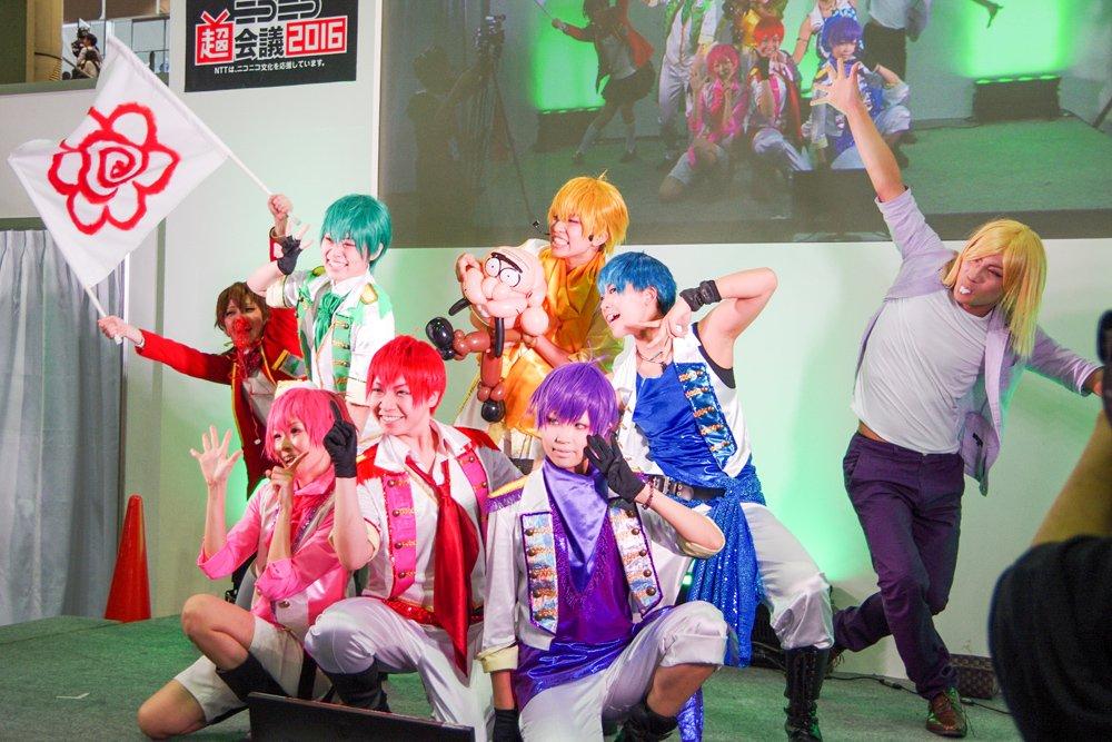 ニコニコ超会議2016 超まるなげステージ「コスつく」パフォーマンス 9