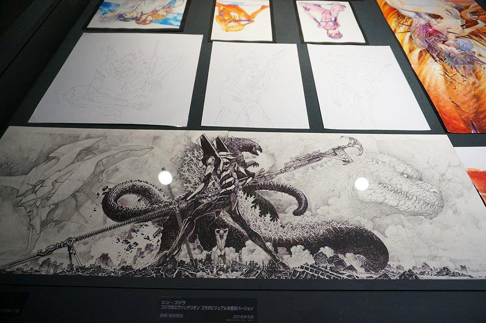 「株式会社カラー10周年記念展 過去(これまで)のエヴァと、未来(これから)のエヴァ。そして現在(いま)のスタジオカラー。」画像6