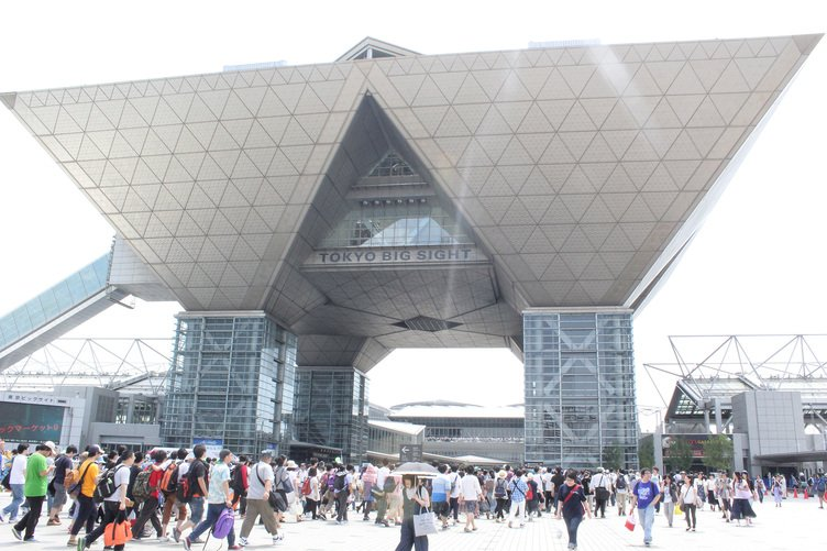 「コミックマーケット」会場/東京国際展示場