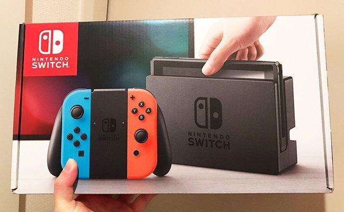 Amazon「Prime Now」の0時注文で『Nintendo Switch』が6時に届く?→本当に届きました