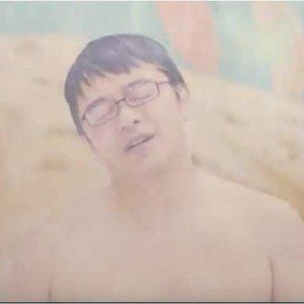 「温泉スライダー」