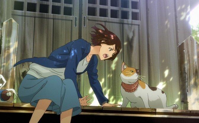 丸井がアニメCM公開! 会社員女性(内田真礼)と猫(櫻井孝宏)との触れ合い描く