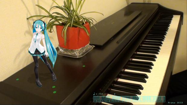 初音ミクがピアノに合わせて歌った「Tell Your World」がすごい