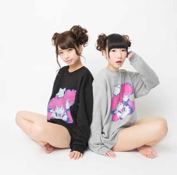 12月13日(土)開催の先行販売イベントでの陽子さんとのコラボレーショングッズトレーナー(税抜き¥4,500)