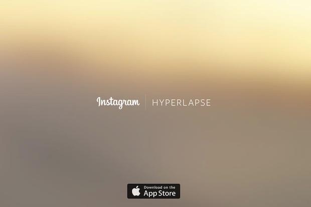 早回し動画をかんたん撮影! Instagramの新アプリ「Hyperlapse」