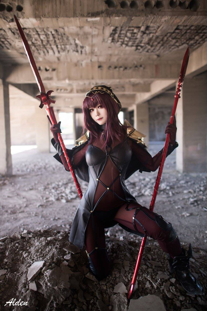 Arty as Scáthach from 'Fate/Grand Order' | Arty from Taiwan | MANGA.TOKYO World Cosplayers | Artyさん/『Fate/Grand Order』スカサハ