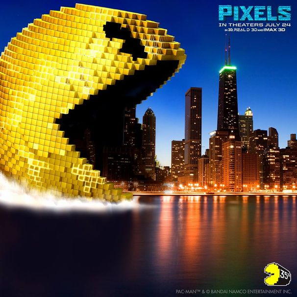 画像は『Pixels』公式Facebookより