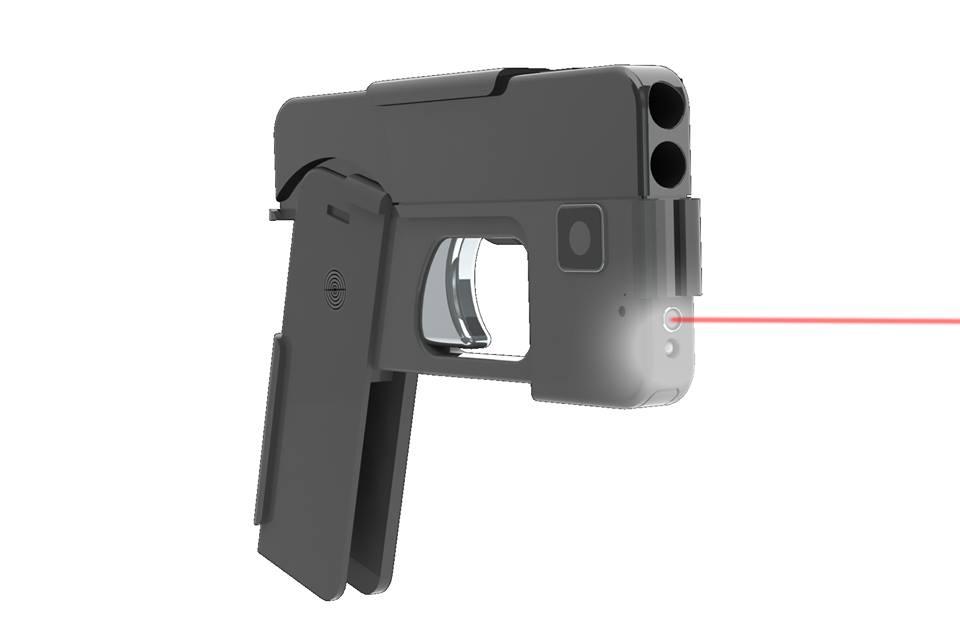 実弾が撃てるスマホ型拳銃 「見分けがつかない」と懸念の声