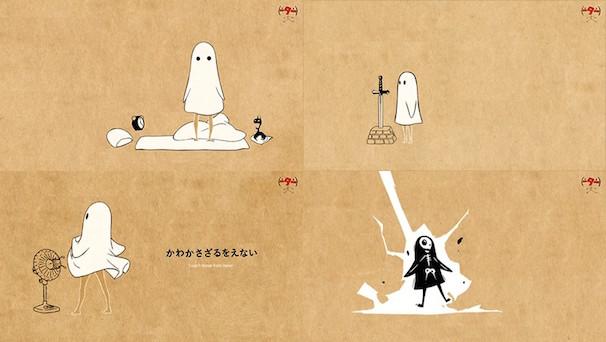 『おばけちゃんてぃーしゃつ』デザイン候補の一部(画像はCCMS公式Webサイトより)/(C)CCMS (C) nihon animator mihonichi LLP.