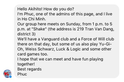 Vietnam Cardfight Vanguard Fanpage