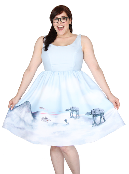 HOTH PIN-UP DRESS/ショッピングサイトHer Universeより