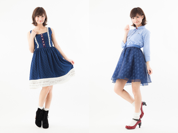 「エヴァ」シンジとカヲルのワンピ&スカートが超絶可愛い