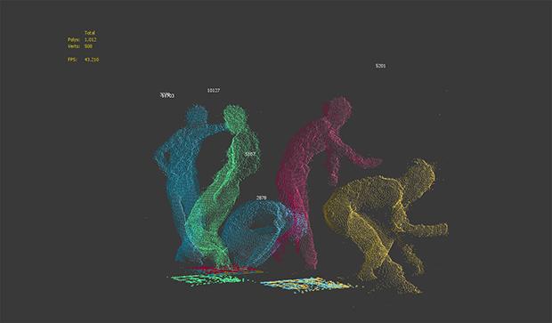 Kinectでダンサーの動きをCGアニメ化! 海外で話題の実験映像がすごい