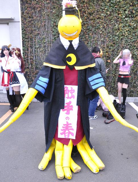 殺せんせー_触手の春!