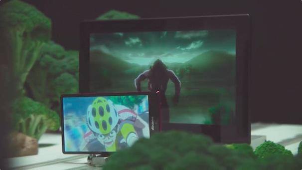 『進撃の巨人』女型の巨人から逃げる『弱虫ペダル』小野田 坂道