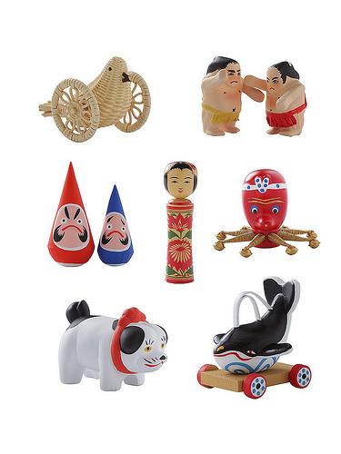 「日本全国まめ郷土玩具蒐集(しゅうしゅう)」/中川政七商店Webサイトより
