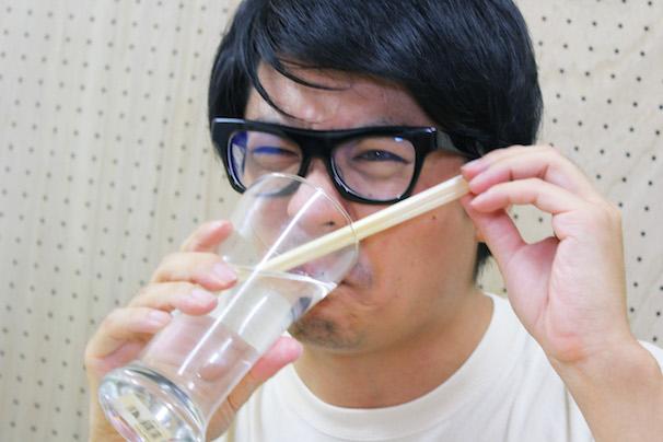 「割り箸水」を味見してみた