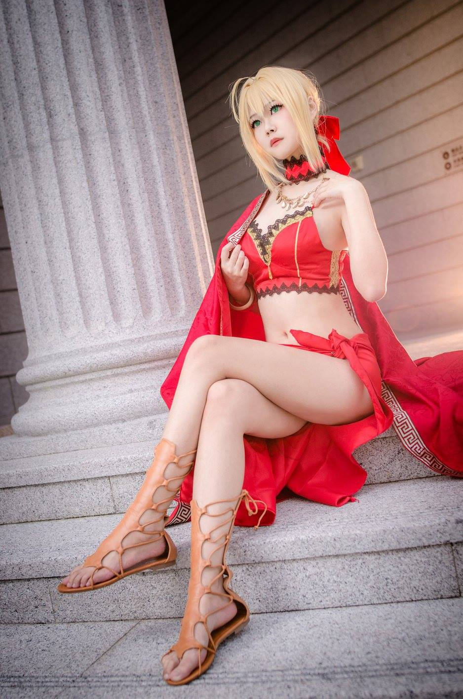 Arty as Nero Claudius from 'Fate/Grand Order' | Arty from Taiwan | MANGA.TOKYO World Cosplayers | Artyさん/『Fate/Grand Order』ネロ・クラウディウス