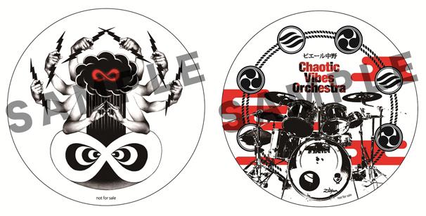 左:TSUTAYA特典ステッカー 右:タワーレコード特典ステッカー