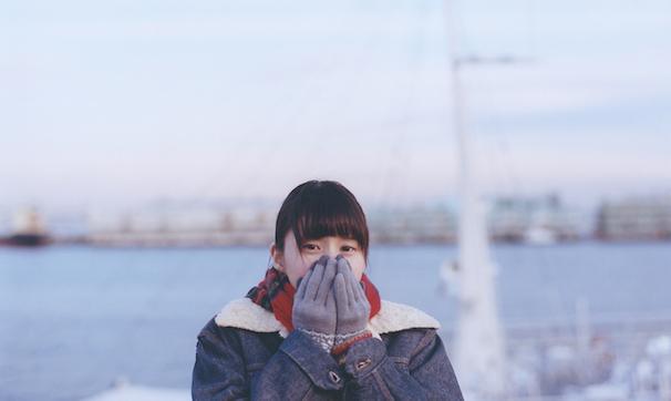 まなこさん 寒そう