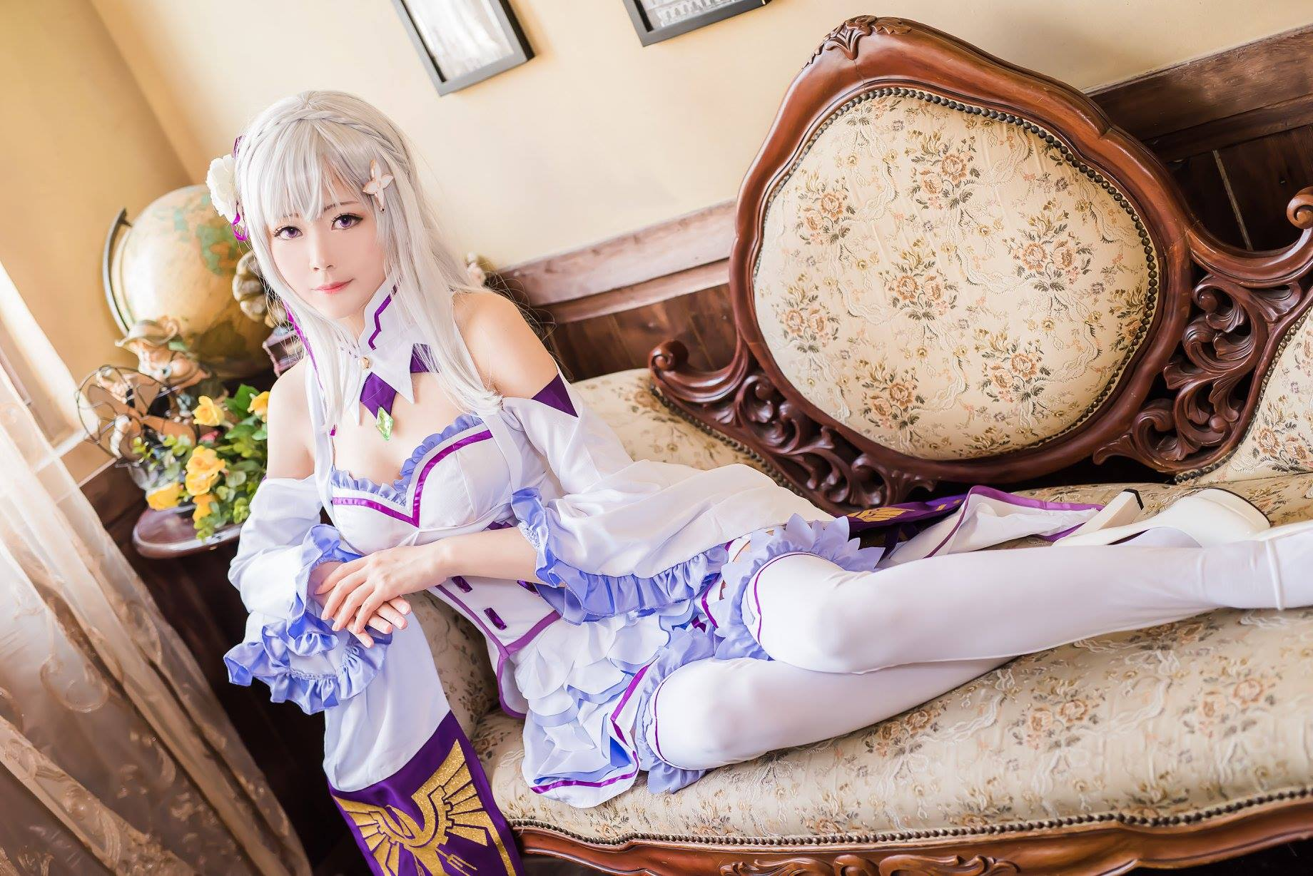 Arty as Emilia from 'Re:Zero − Starting Life in Another World' | Arty from Taiwan | MANGA.TOKYO World Cosplayers | Artyさん/『Re:ゼロから始める異世界生活』エミリア