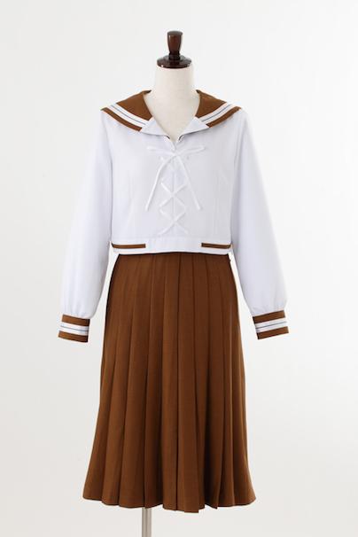 木野まことの前の学校の制服/©武内直子・PNP・講談社・東映アニメーション