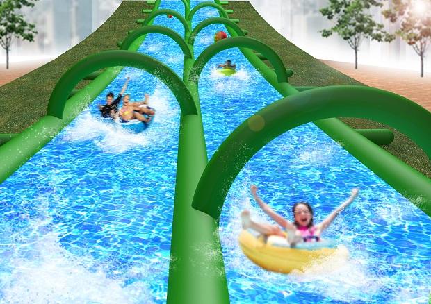 全長120m高速スライダーが登場! 夏季限定テーマパーク「UGOKAS」