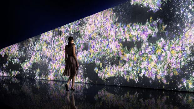 チームラボ、グッチ新宿にて新作デジタルインスタレーションを発表