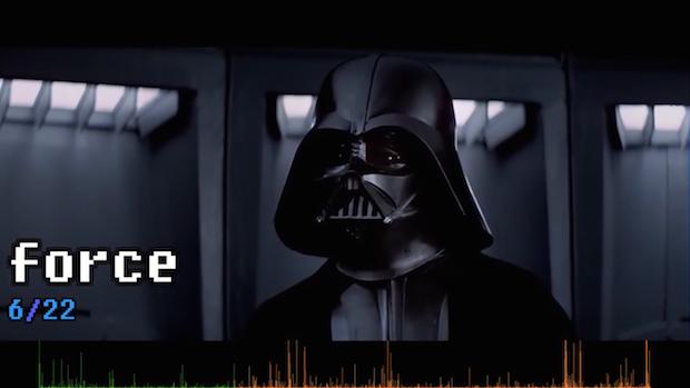 「スター・ウォーズ」EP4で最も多い単語は…? 調査した動画が話題