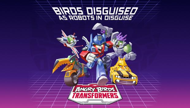大人気ゲーム「Angry Birds」 トランスフォーマーとコラボ発表