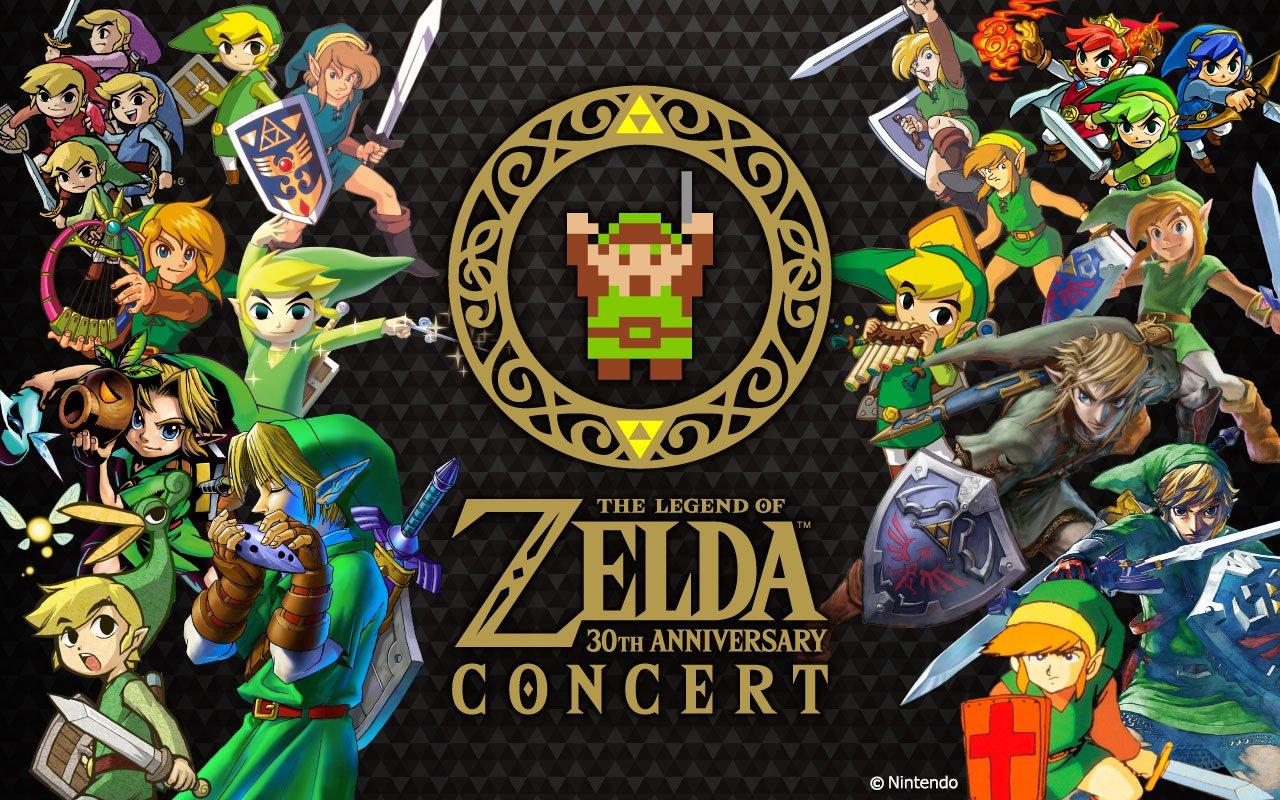 『ゼルダの伝説』30周年記念コンサート! フルオーケストラで蘇る名曲