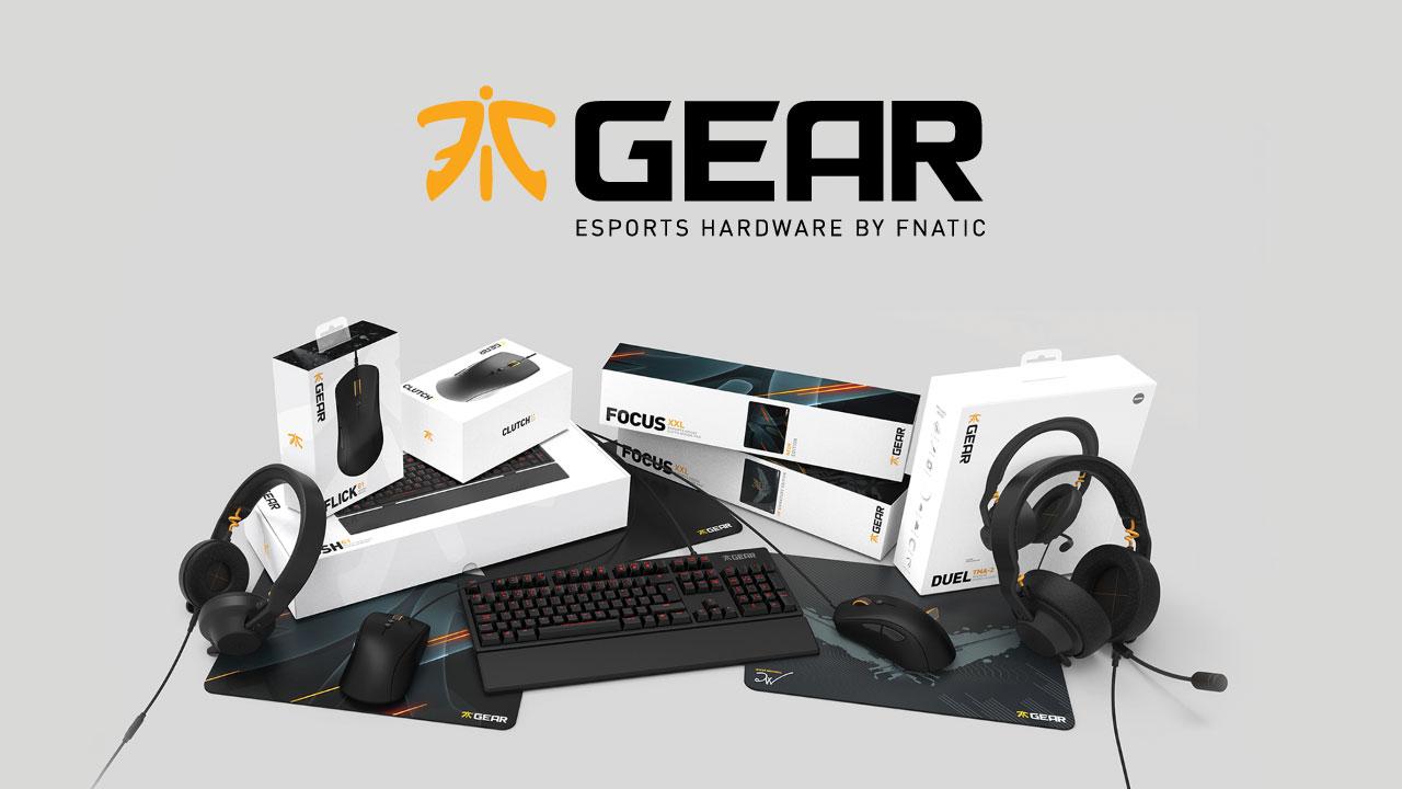 e-Sportsギア「Fnatic Gear」発売 世界最強クラスのプロゲーミングチームが開発