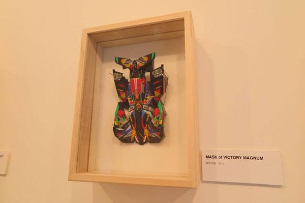 ミニ四駆ドレスアップステッカーを現代アートに fxdulが個展