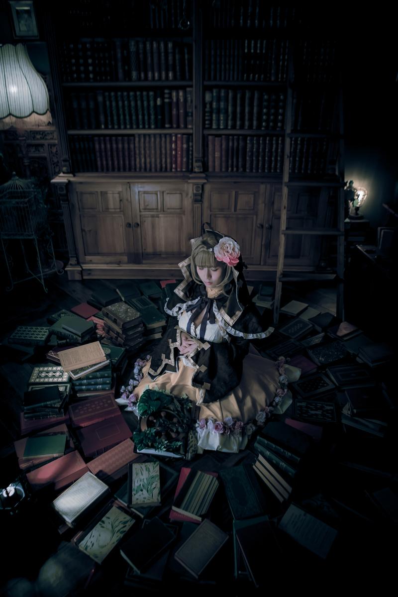 本の中で眠りそうになる「シノアリス」いばら姫
