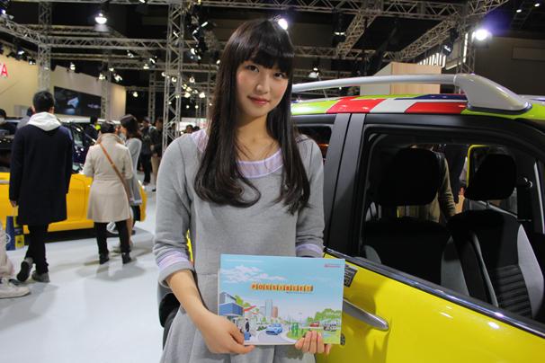 福岡モーターショー2015 ダイハツのブース