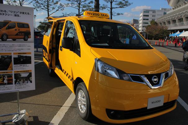 福岡モーターショー2015 NV200タクシー