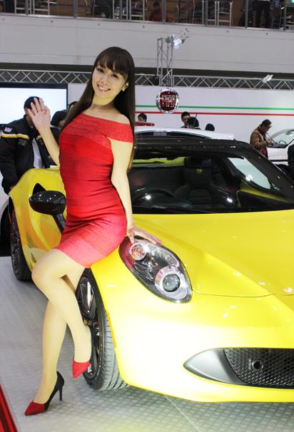 福岡モーターショー2015 Alfa Romeoのブース