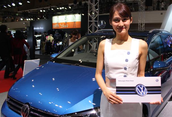 福岡モーターショー2015 Volkswagenのブース