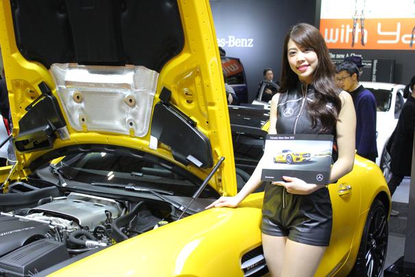 福岡モーターショー2015 Mercedes-Benzのブース