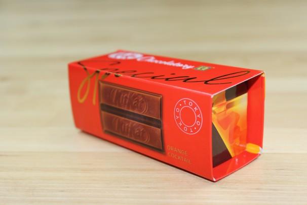 キットカット ショコラトリー スペシャル オレンジカクテル パッケージ2