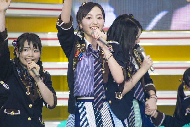 TIF2015 HKT48 ホットステージ13