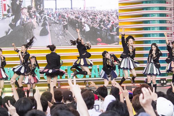 TIF2015 HKT48 ホットステージ15
